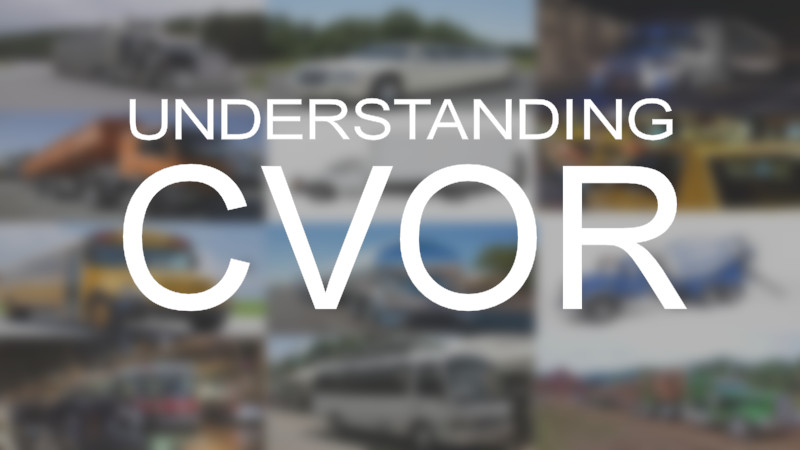 understanding CVOR